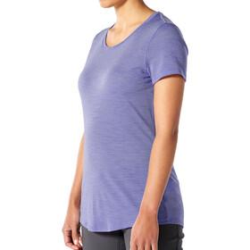 Icebreaker Sphere Low Crew T-shirt Dames, violet